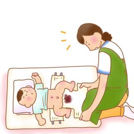 うんち 幼児 白い