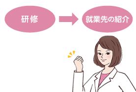 研修→就業先の紹介