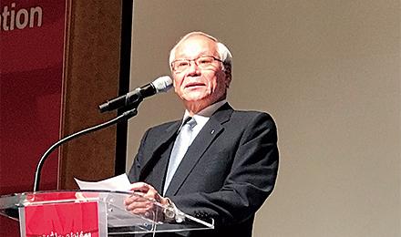 横倉会長、松原副会長、鈴木・道永両常任理事が韓国医師会学術総会に出席